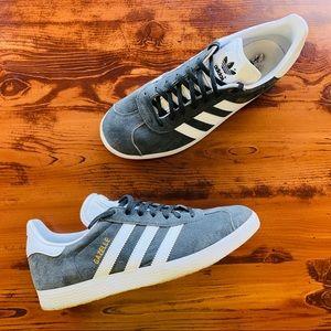 Adidas Gazelle Gray Suede